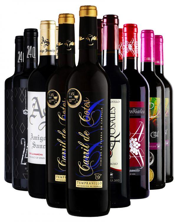 ארגז יין אדום