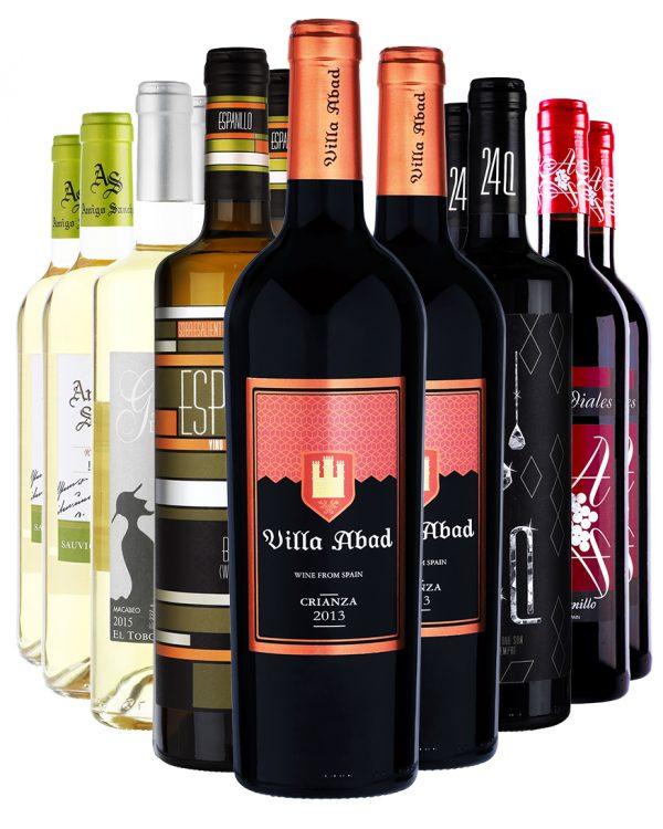 ארגז יין אדום ולבן