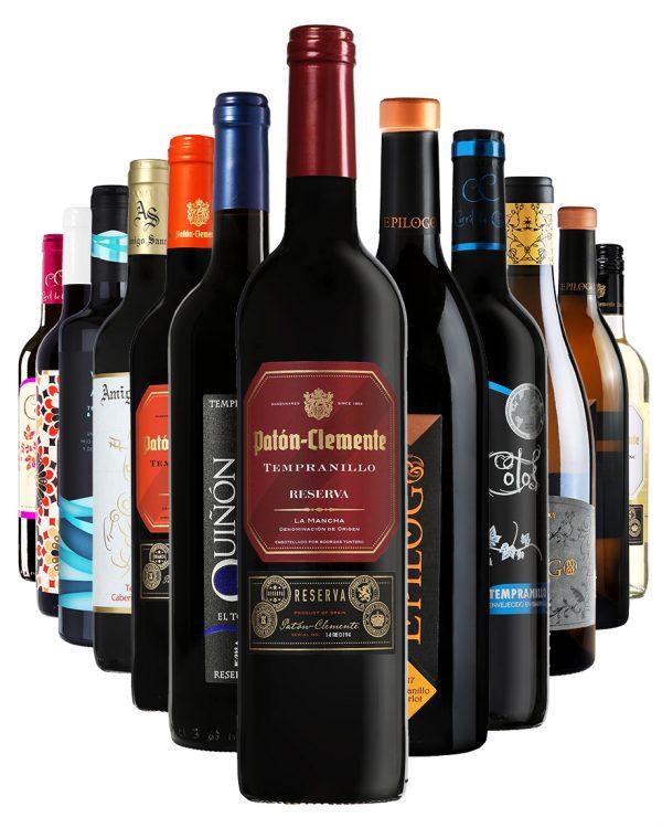 ארגז יין - ארגז החודש 12 בקבוקים