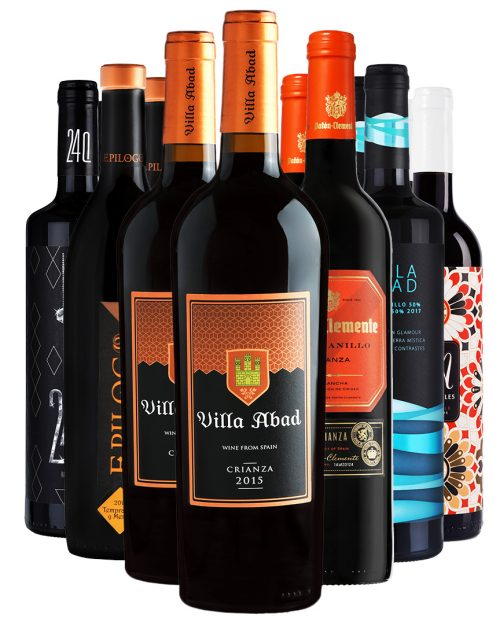 ארגז יין אדומים מיקס