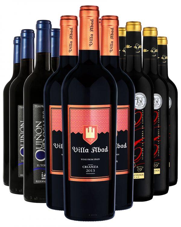ארגז יין אדום פרימיום