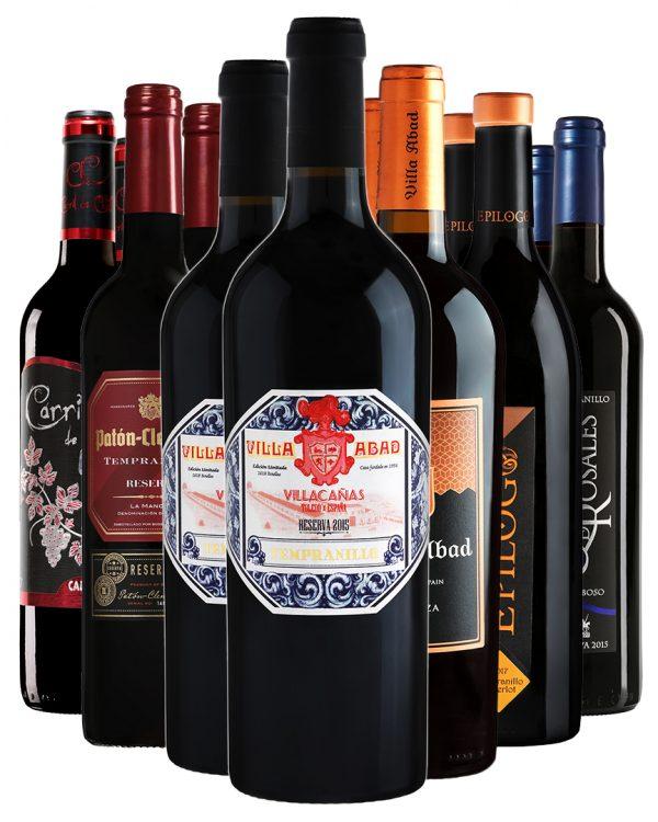 ארגז יין - 12 אדומים מובחרים
