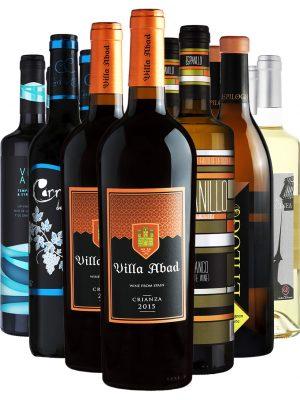 ארגז יין אדום ולבן מיקס