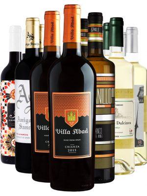 ארגז יין - 12 מיקס אדום ולבן