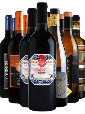 ארגז יין - 12 אדום ולבן מיקס מובחר